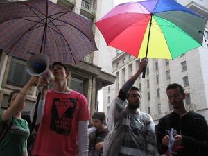 Movimento LGBT no 15.O em São Paulo