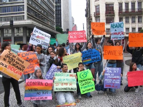 Juntos! no 15.O chuvoso em São Paulo
