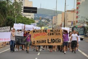 Passeata contra Renan Calheiros em Porto Alegre