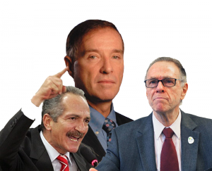 Aldo Rebelo, Eike Batista e Carlos Nuzman. Peças centrais nas negociatas dos megaeventos.