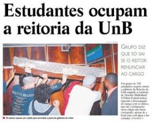 Ocupação Reitoria UnB - 2008