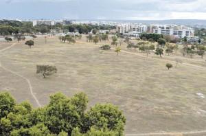 Área da Universidade de Brasília na Quadra 207 Norte.