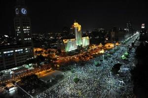 Grande manifestação no Rio de Janeiro, 20-06-13