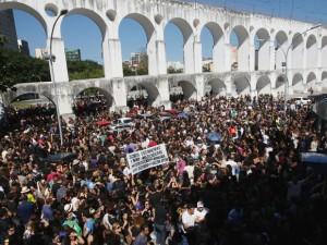 Greve dos professores do município (RJ)