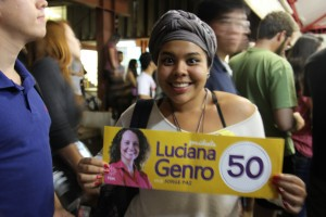 Luciana Genro em Brasília 081
